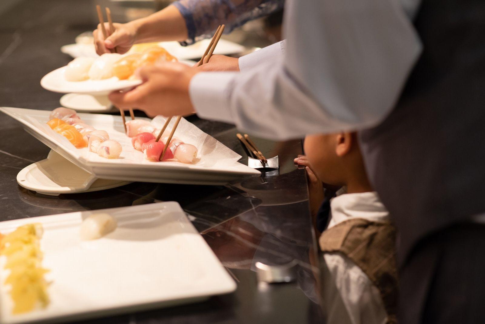 香川県の結婚式場シェルエメール&アイスタイル お茶漬けビュッフェ