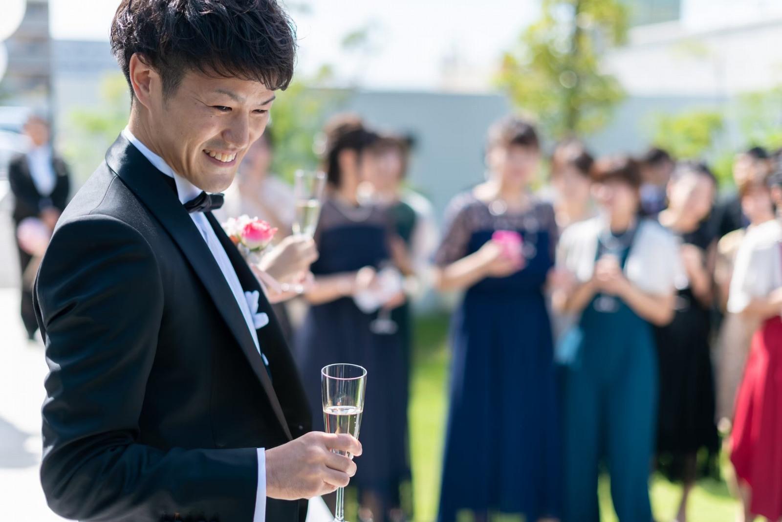 香川県の結婚式場シェルエメール&アイスタイル 乾杯