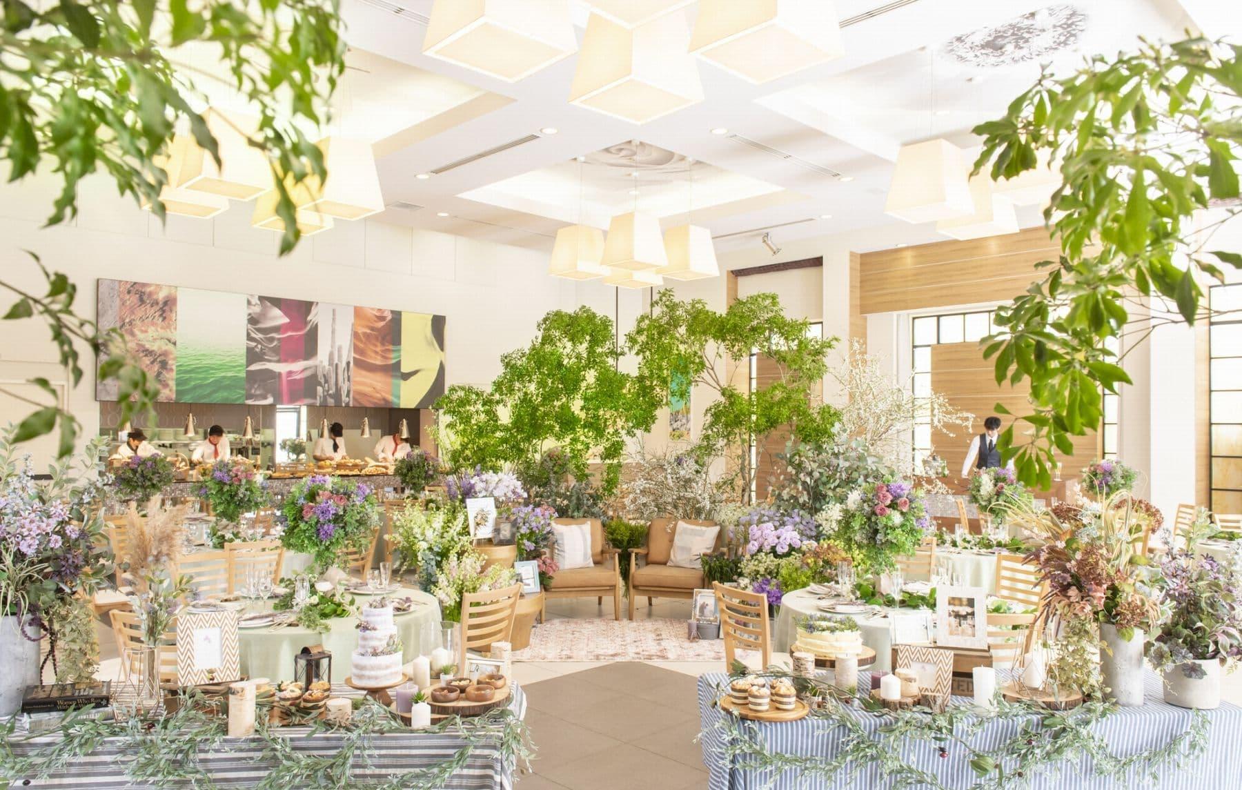 香川県の結婚式場シェルエメール&アイスタイルの貸切邸宅の新しいコーディネートが誕生