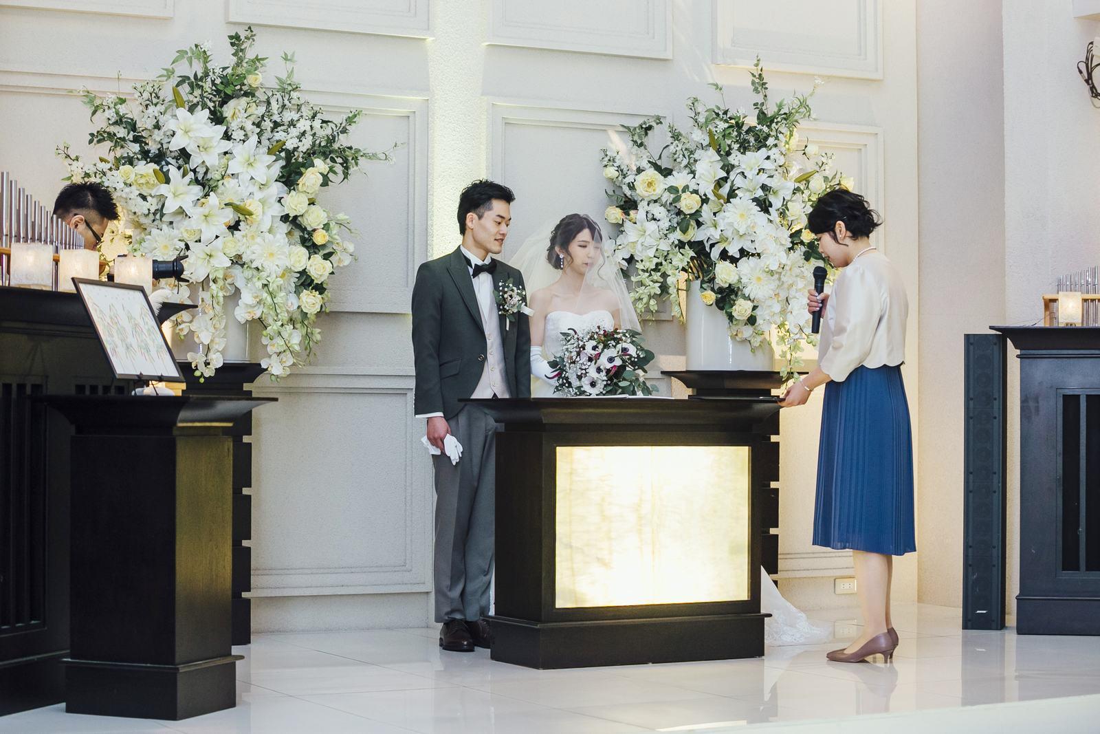 香川県の結婚式場シェルエメール&アイスタイルの誓いの言葉
