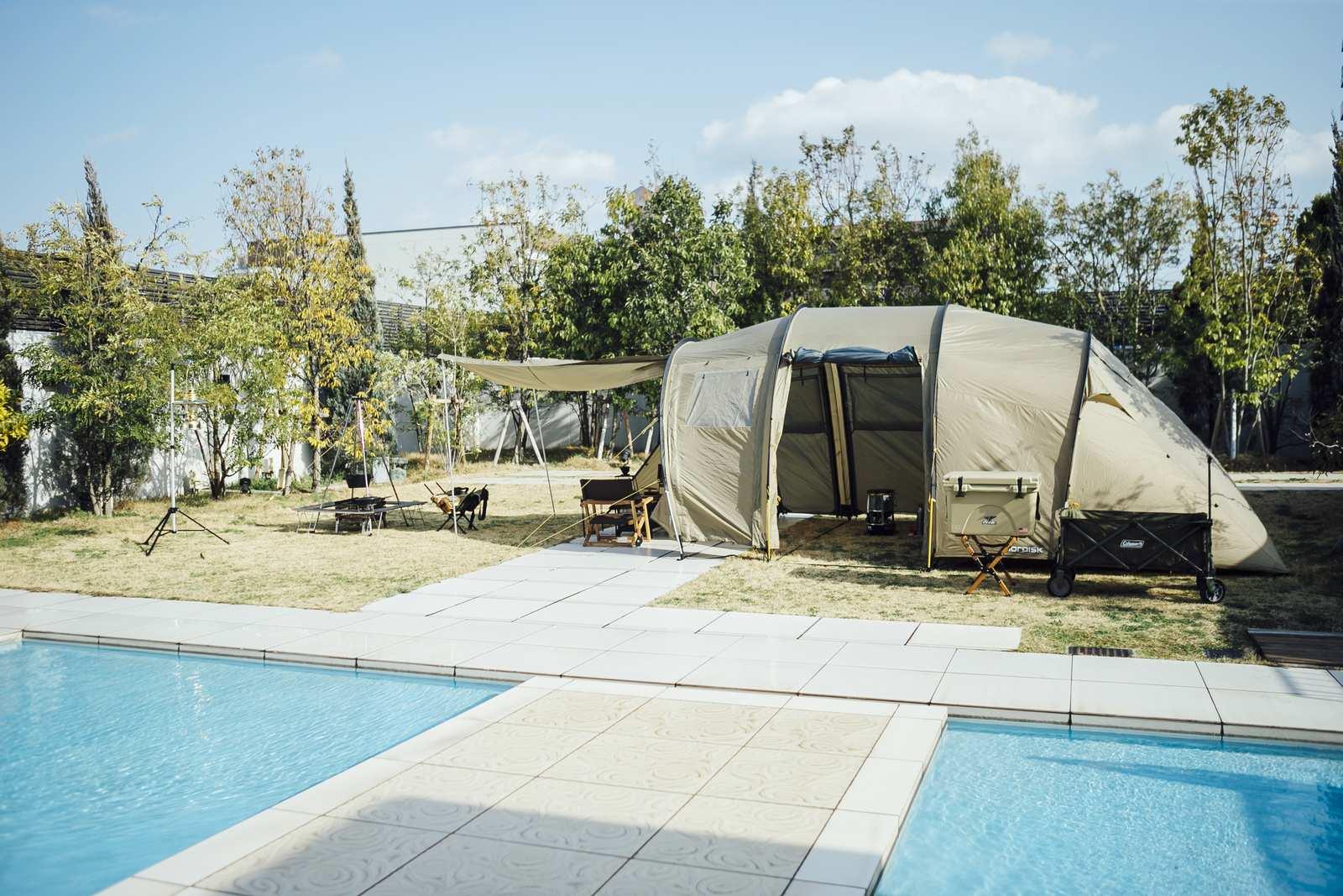 香川県の結婚式場シェルエメール&アイスタイルのテント