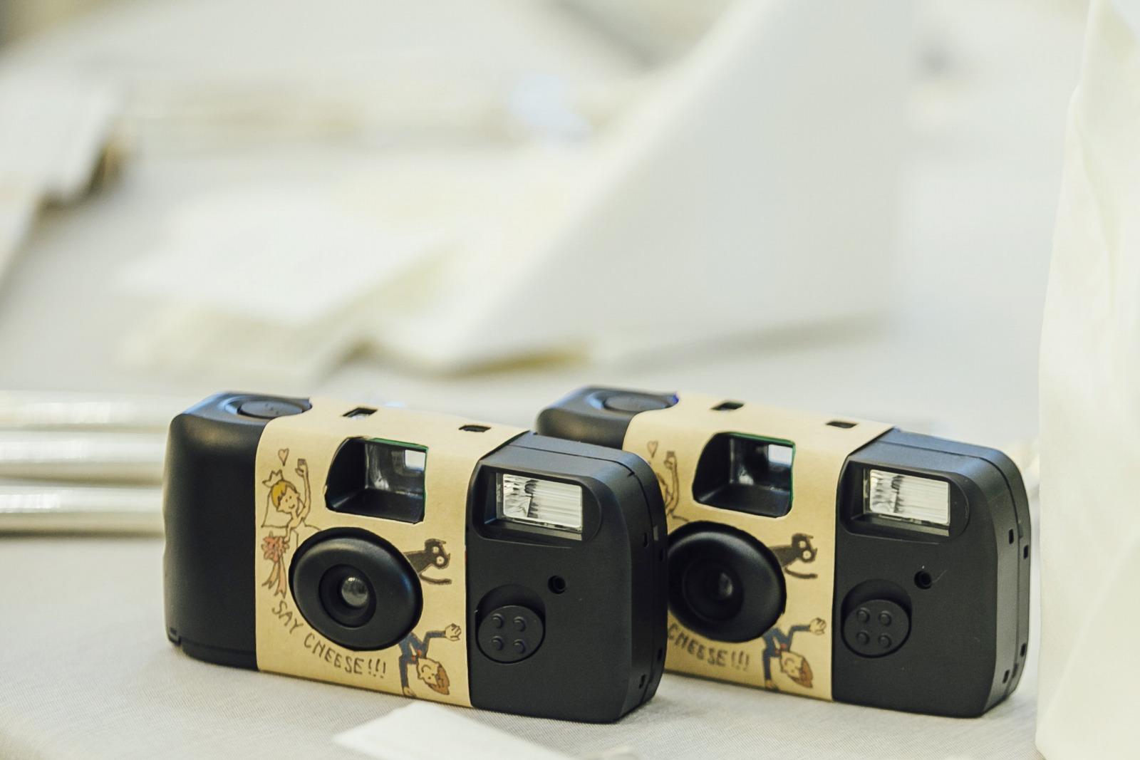香川県の結婚式場シェルエメール&アイスタイルのフィルムカメラ