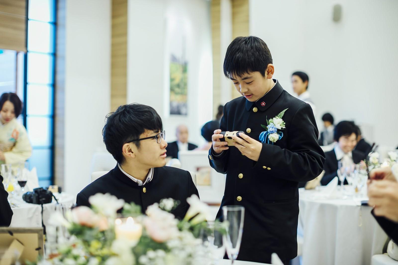 香川県の結婚式場シェルエメール&アイスタイルの子どもカメラマン