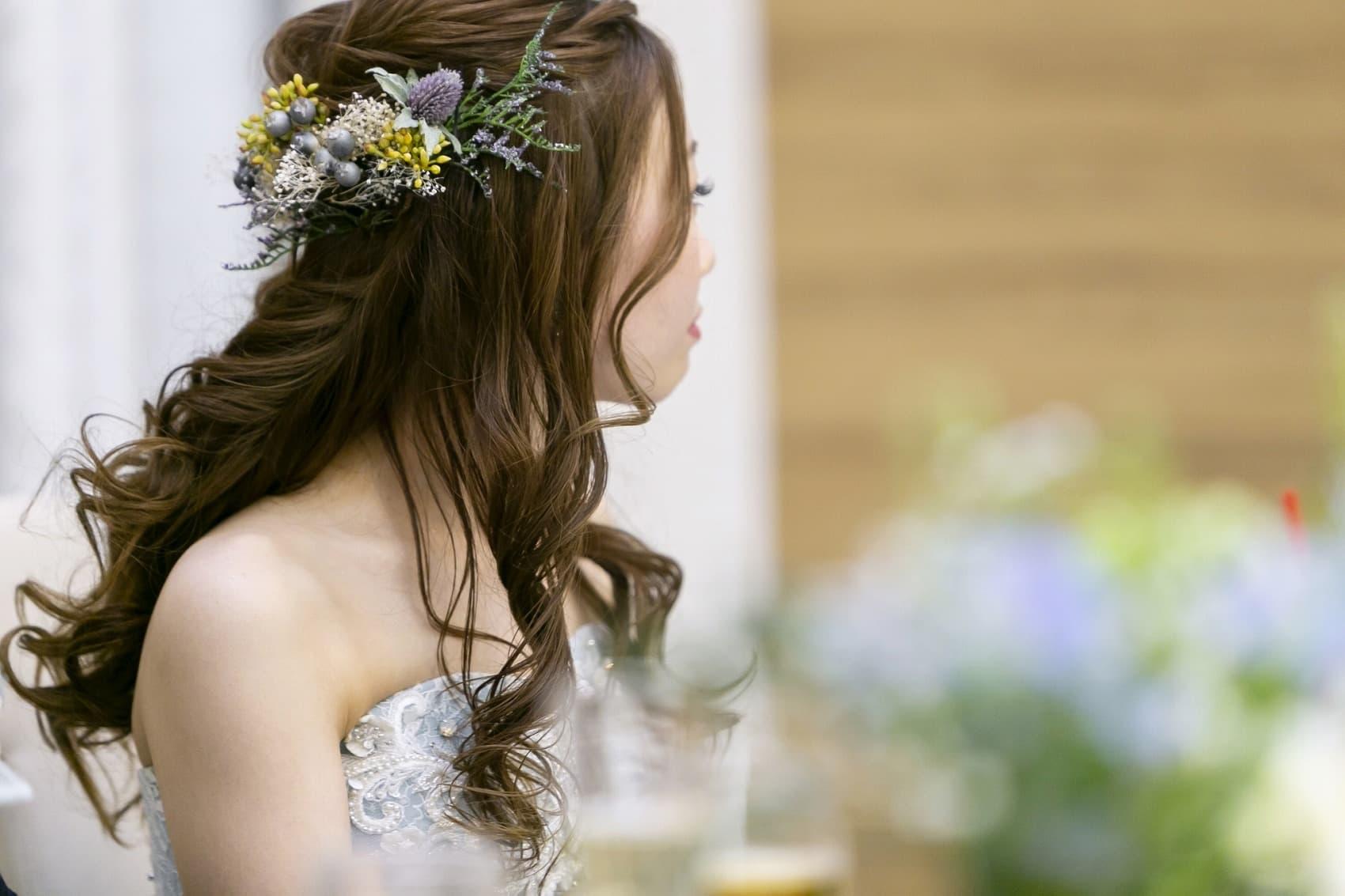 香川県の結婚式場シェルエメール&アイスタイルでトレンドを意識したナチュラルなウエディングヘア