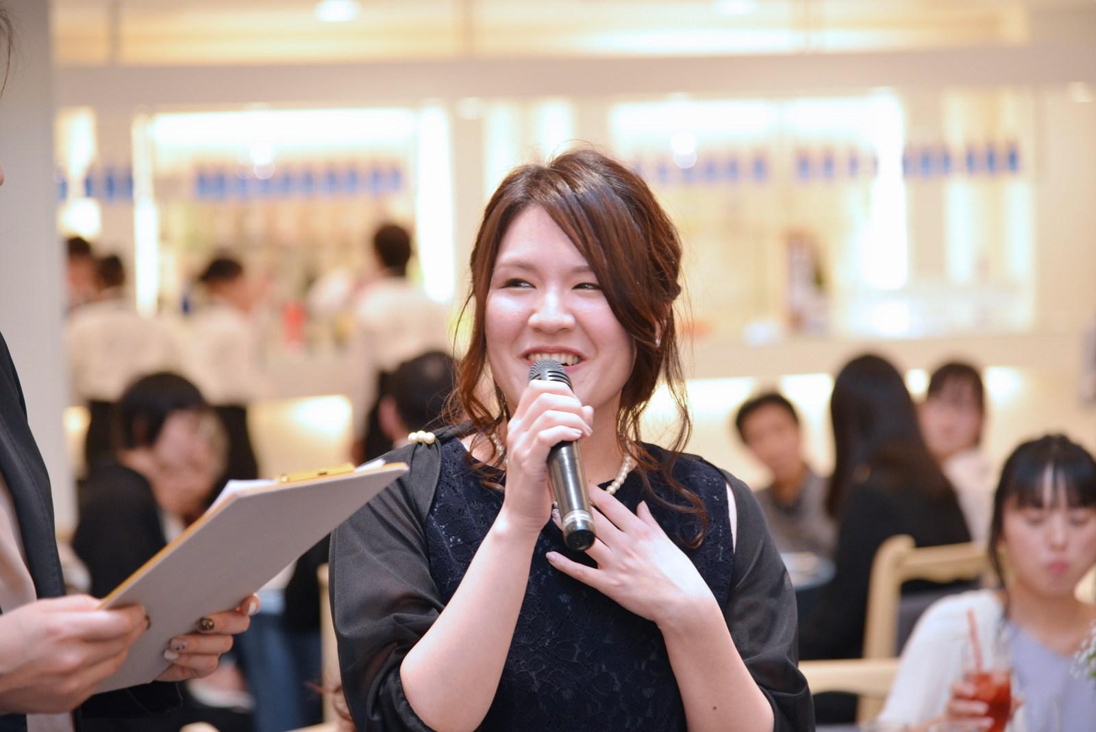 香川県の結婚式場シェルエメール&アイスタイル テーブルスピーチ