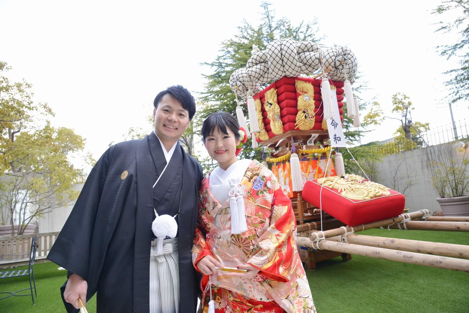 香川県の結婚式場シェルエメール&アイスタイルのお色直し入場