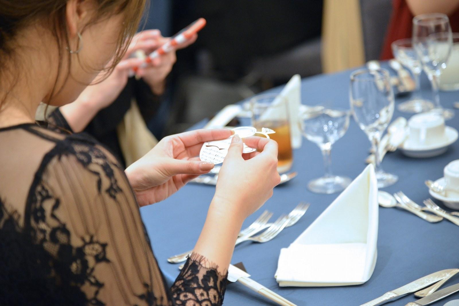 香川県の結婚式場シェルエメール&アイスタイル テーブルコーディネート