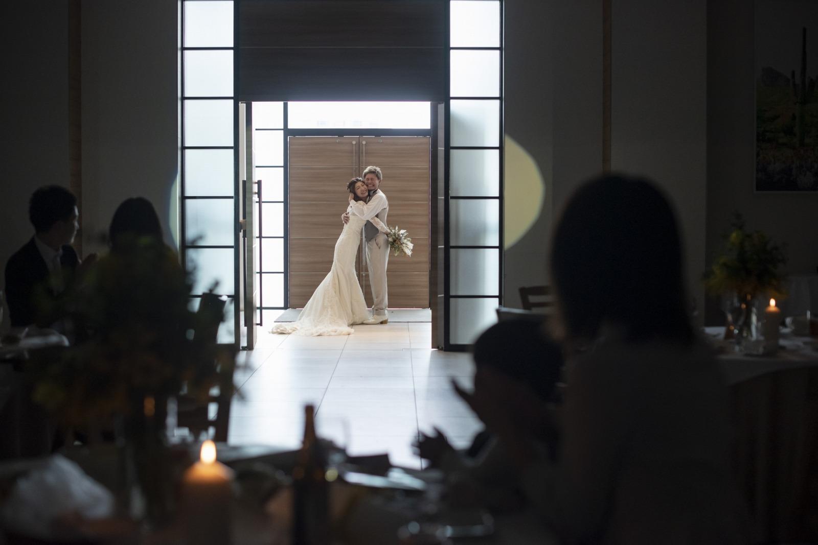 香川県の結婚式場シェルエメール&アイスタイルのクロージングハグ