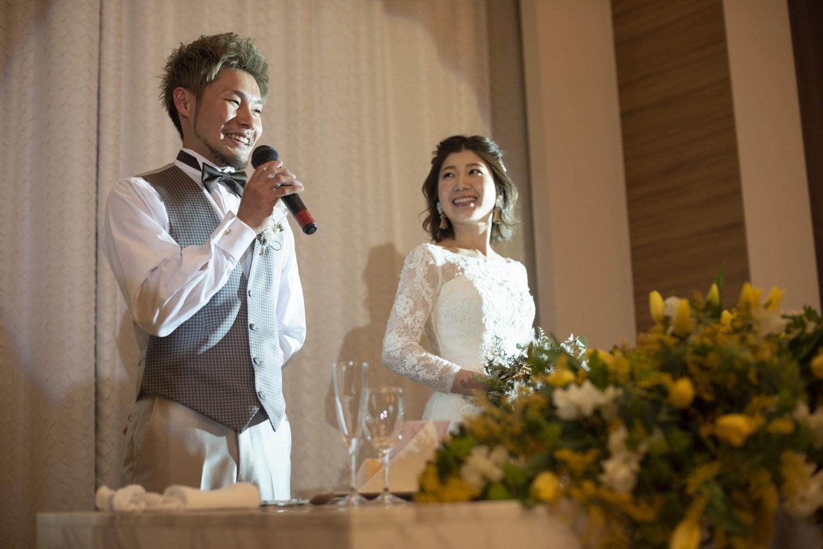 香川県の結婚式場シェルエメール&アイスタイルのウェルカムスピーチ
