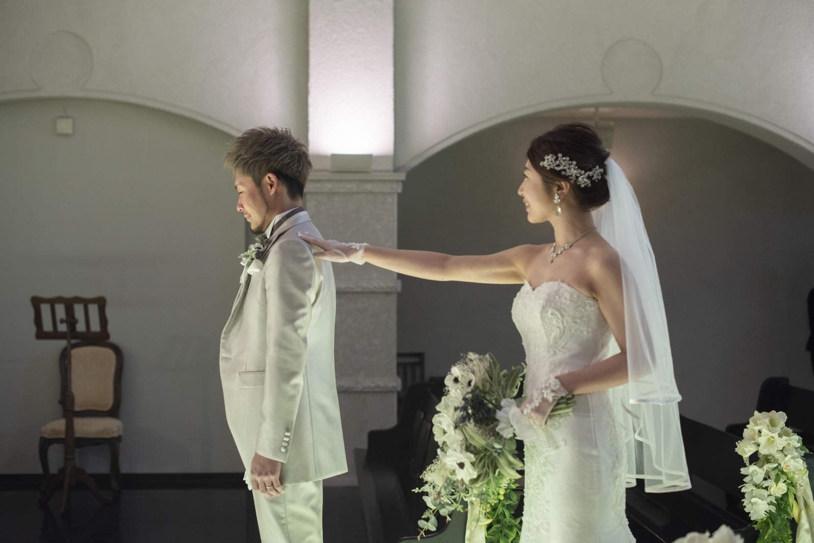 香川県の結婚式場シェルエメール&アイスタイルのファーストミート