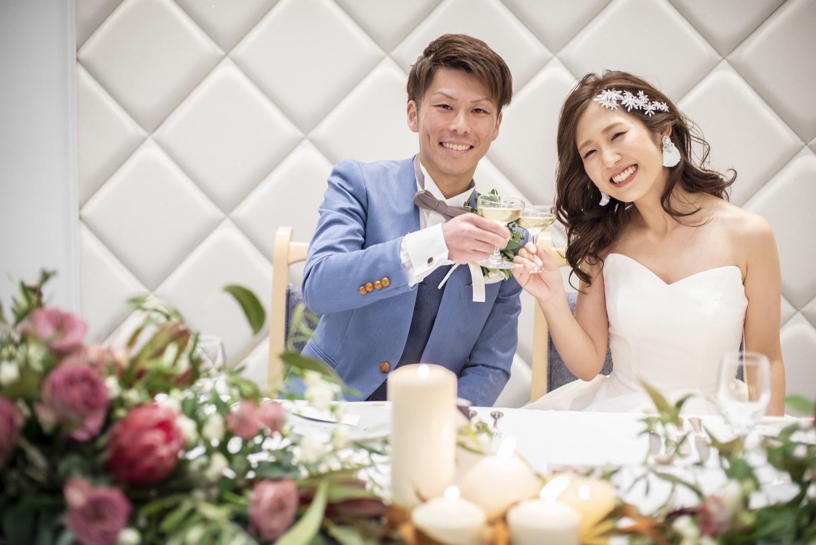 香川県の結婚式場シェルエメール&アイスタイルの乾杯