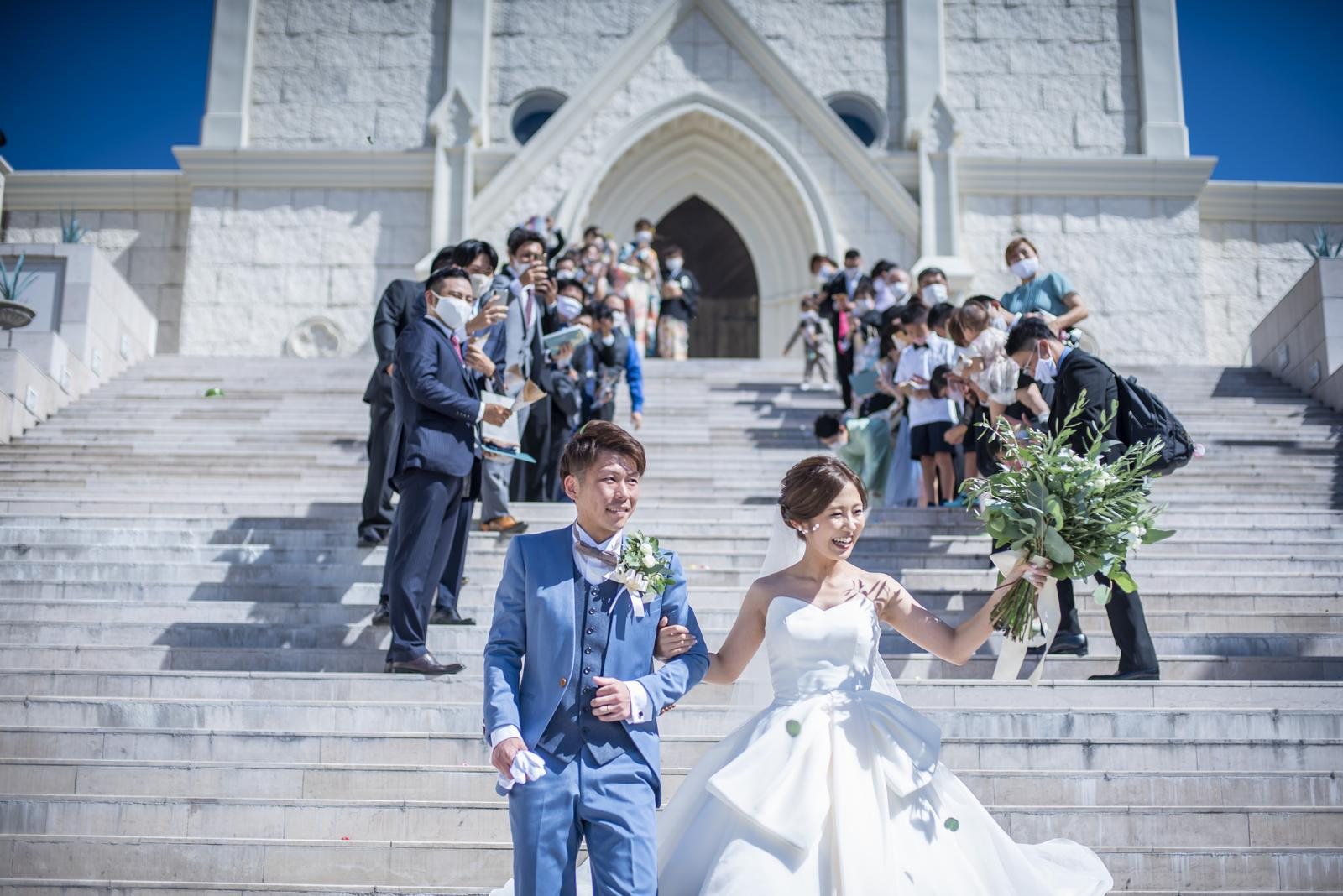 香川県の結婚式場シェルエメール&アイスタイルの大階段