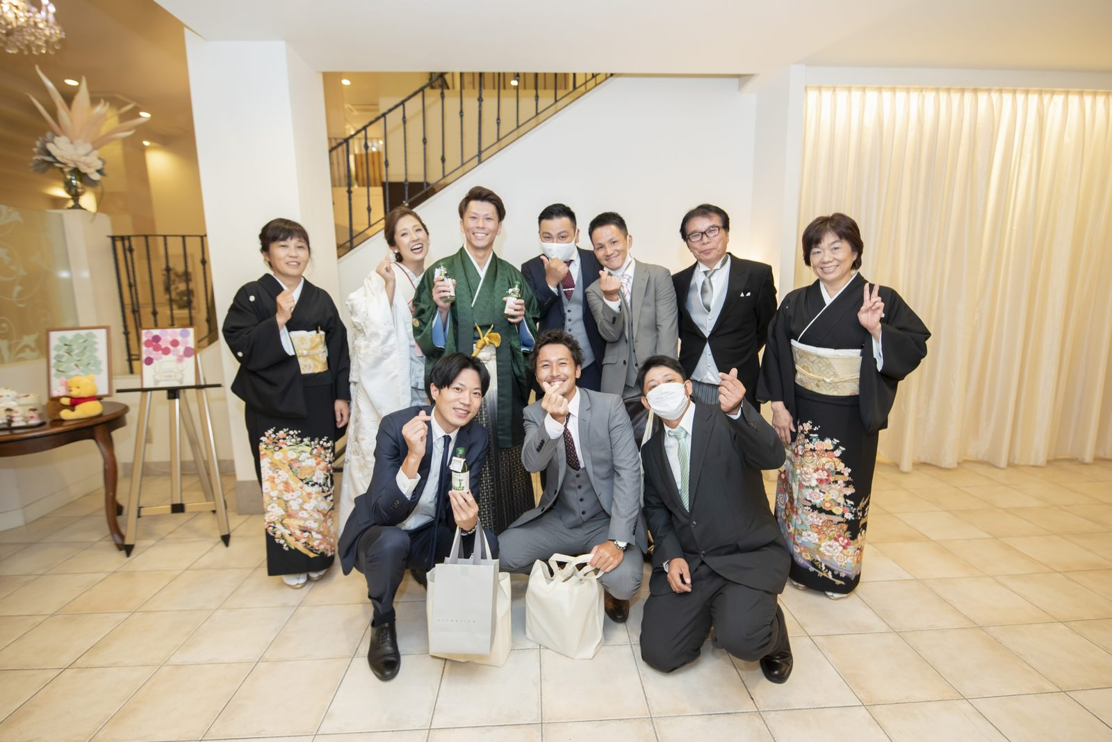 香川県の結婚式場シェルエメール&アイスタイルのお見送り