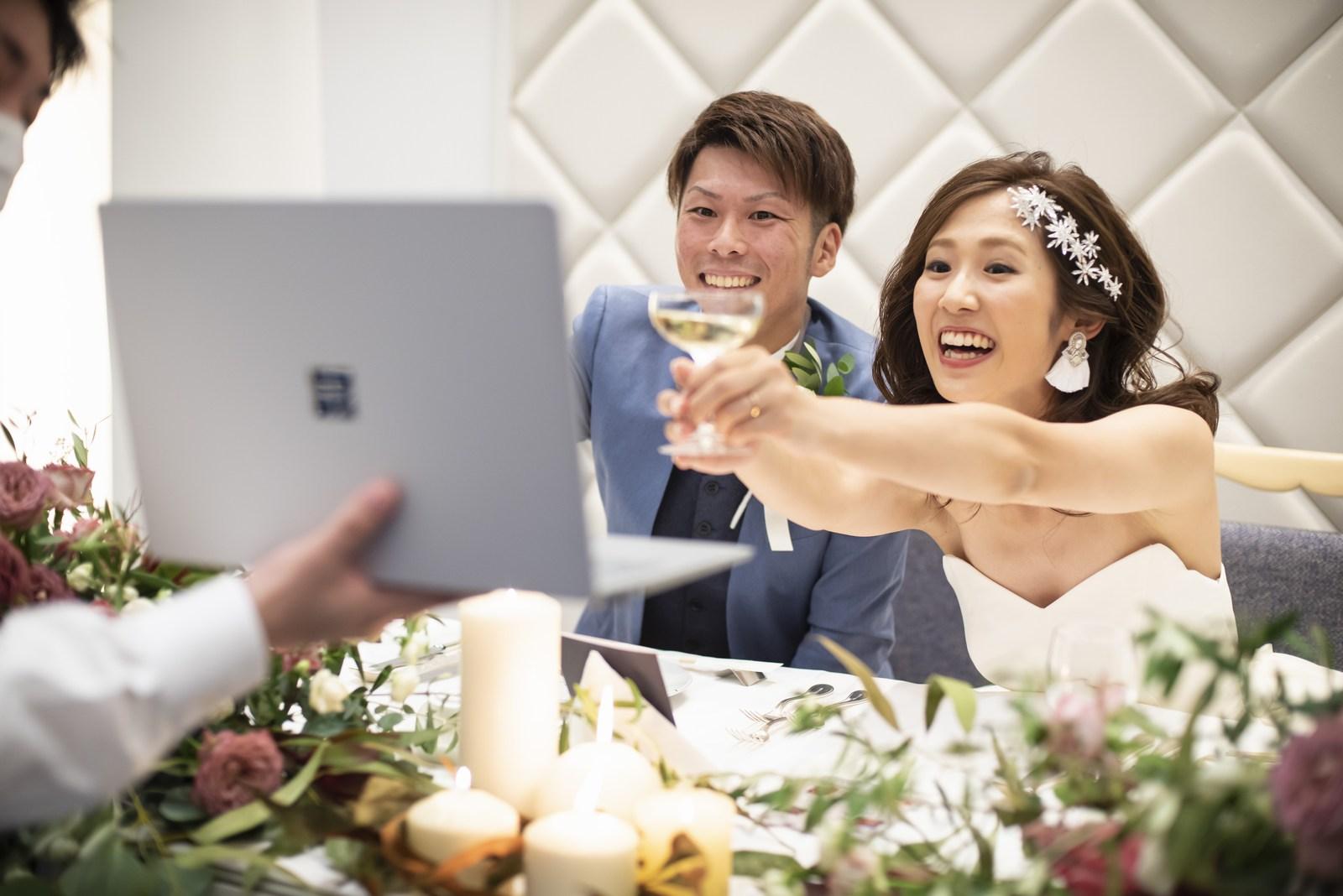 香川県の結婚式場シェルエメール&アイスタイルのリモート