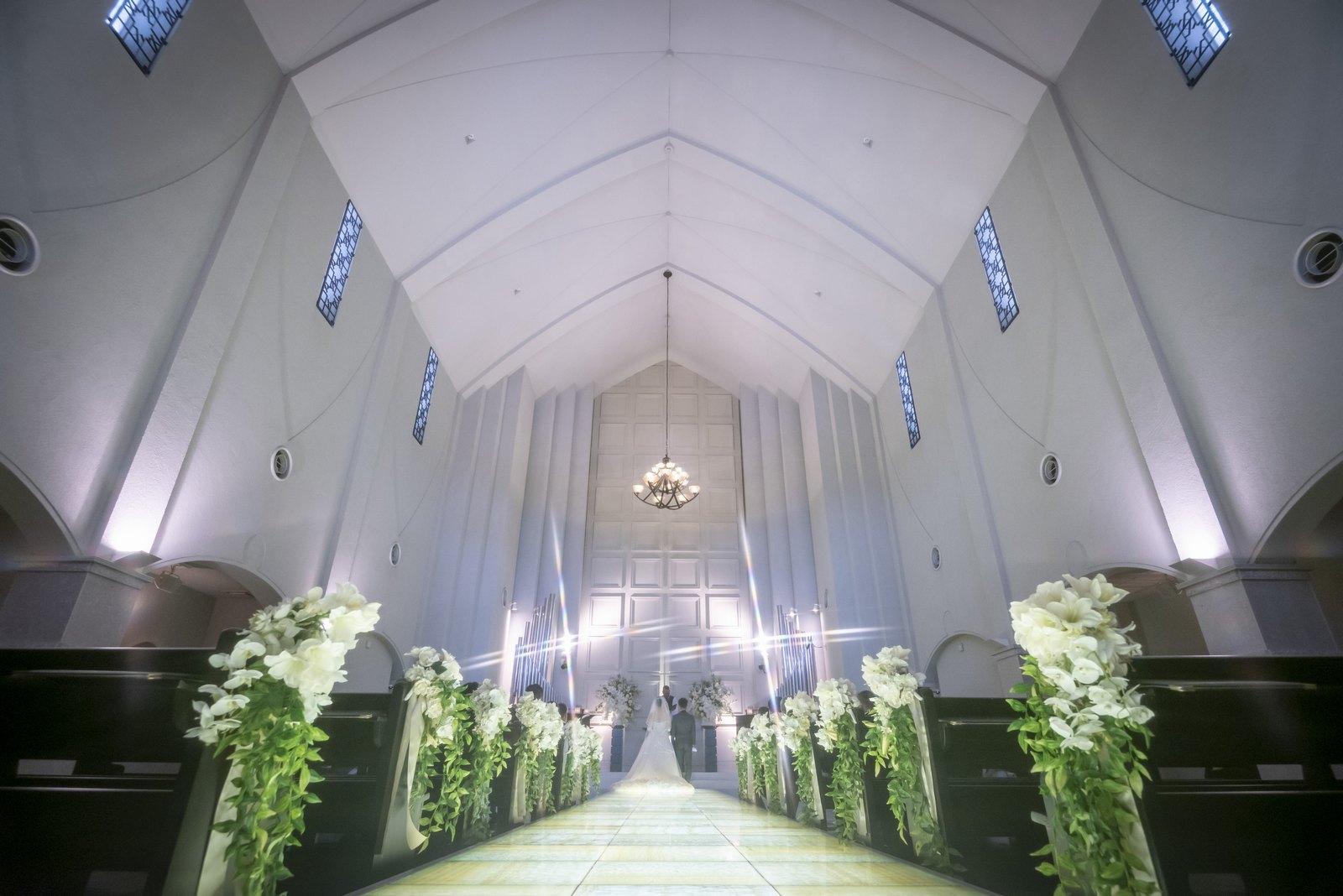 香川県の結婚式場シェルエメール&アイスタイルのチャペル