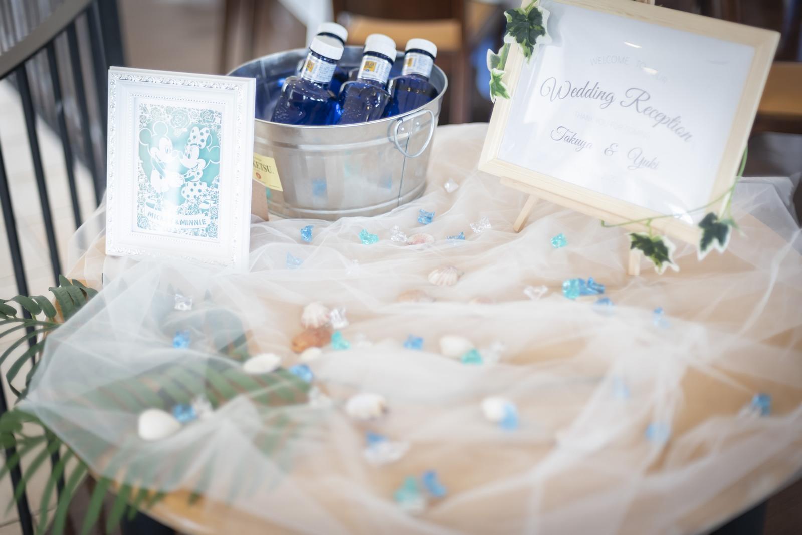 香川県の結婚式場シェルエメール&アイスタイルのウェルカムグッズ