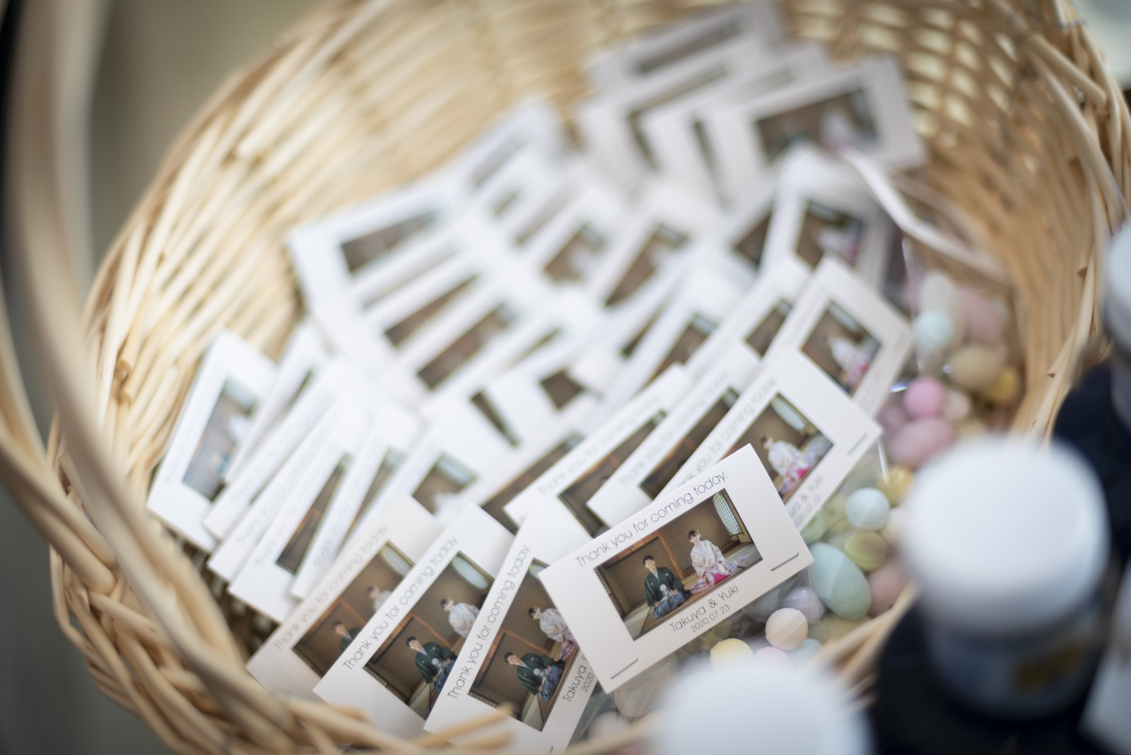 香川県の結婚式場シェルエメール&アイスタイルのお見送り品