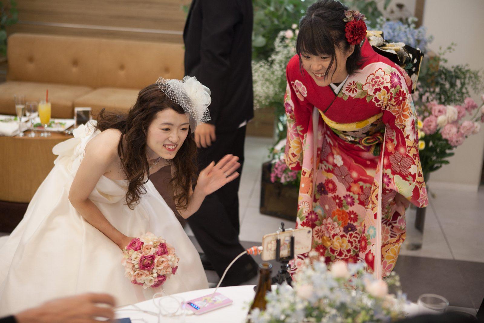 香川県の結婚式場シェルエメール&アイスタイルのご新婦様