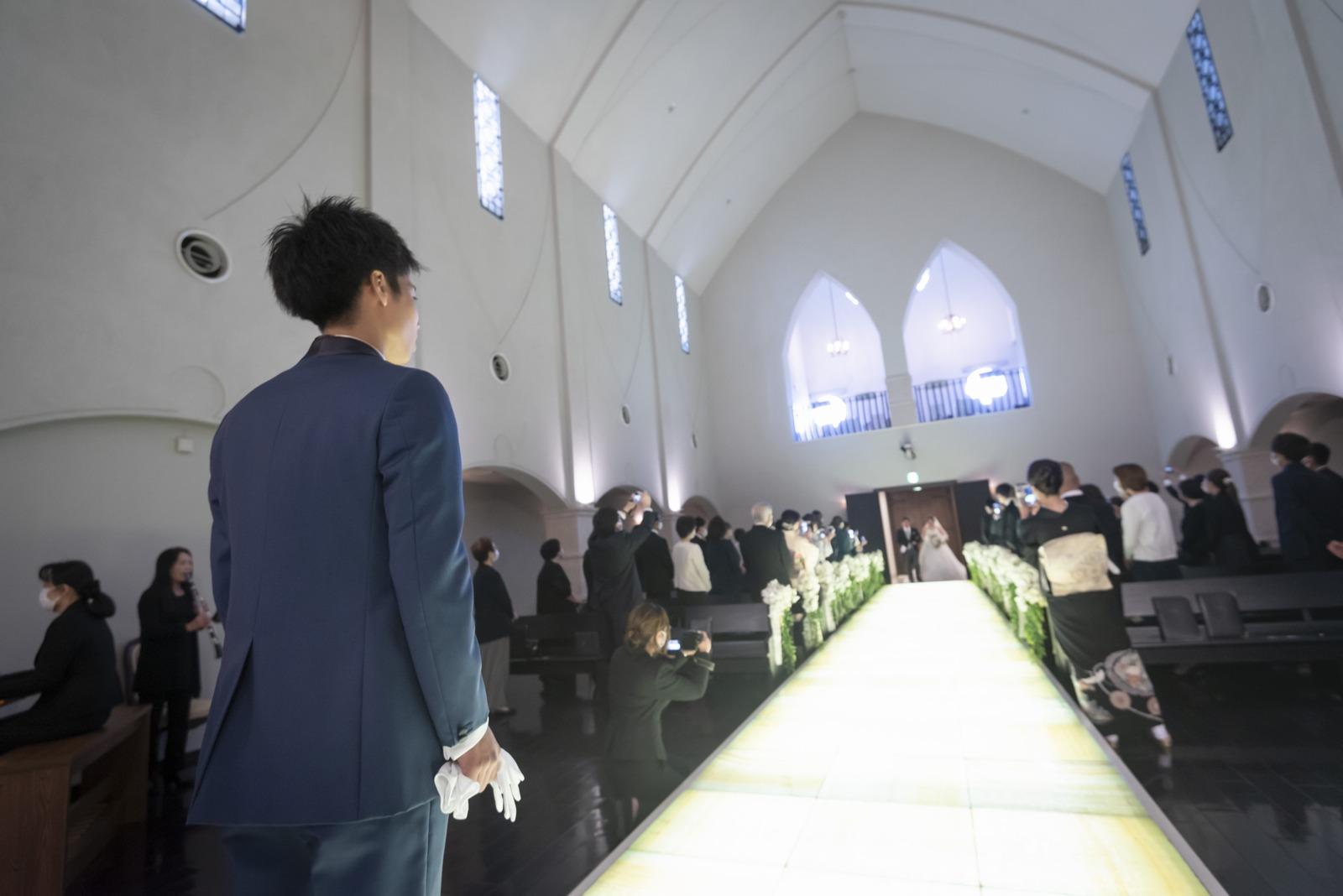 香川県の結婚式場シェルエメール&アイスタイルの挙式
