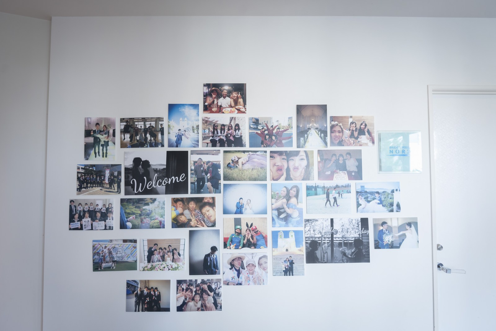 香川県の結婚式場シェルエメール&アイスタイルのウェルカムスペース