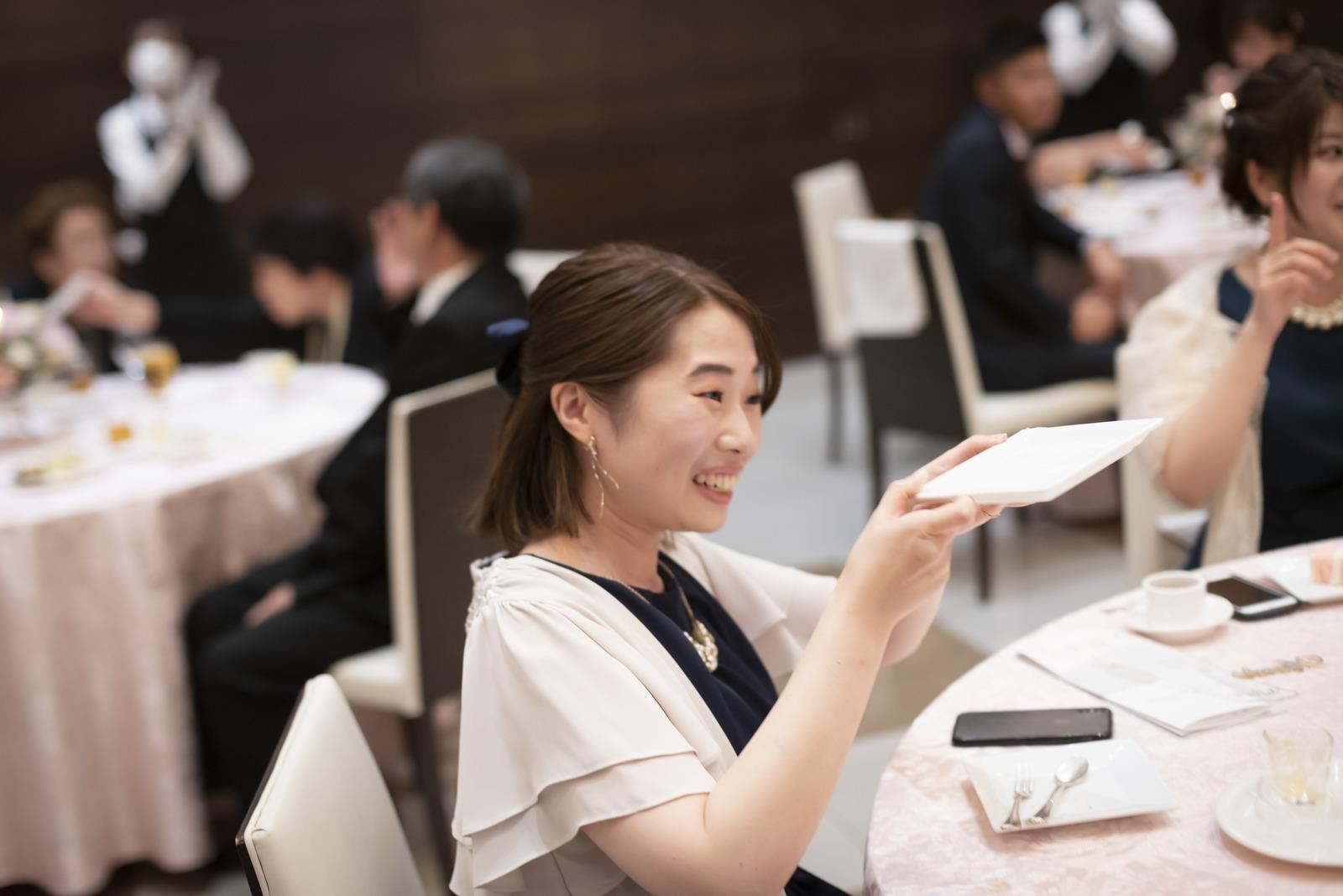 香川県の結婚式場シェルエメール&アイスタイルのケーキ