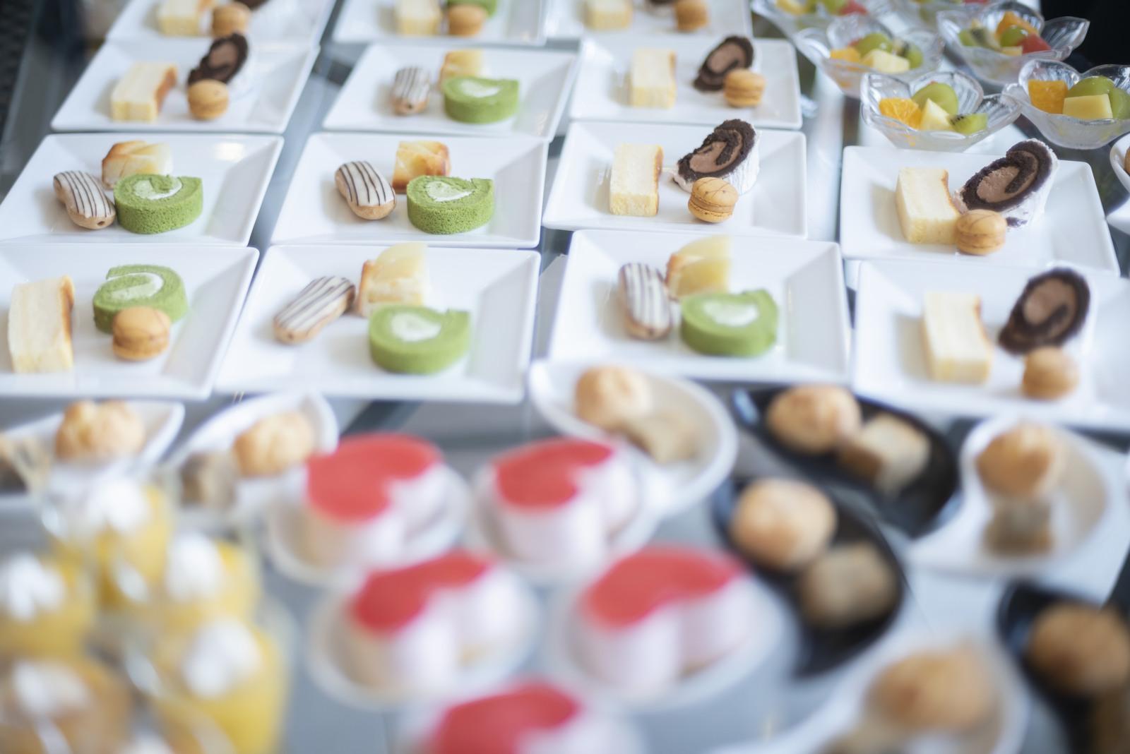 香川県の結婚式場シェルエメール&アイスタイルのデザートビュッフェ