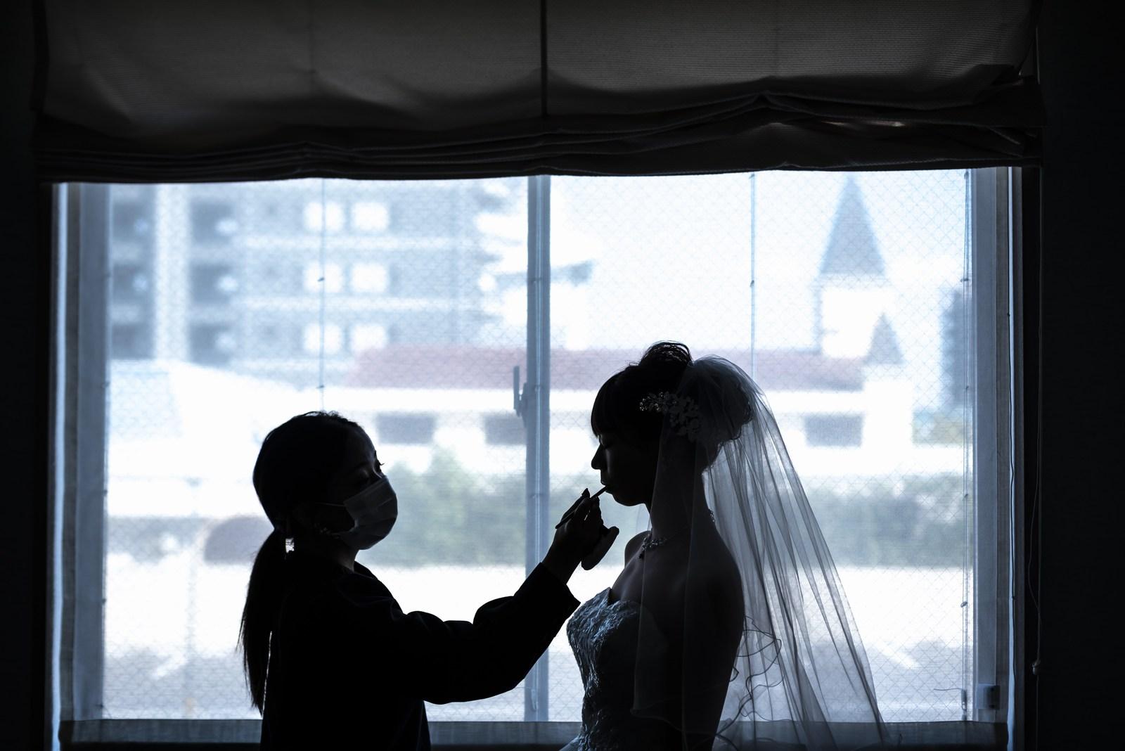 香川県の結婚式場シェルエメール&アイスタイルのマリエ支度
