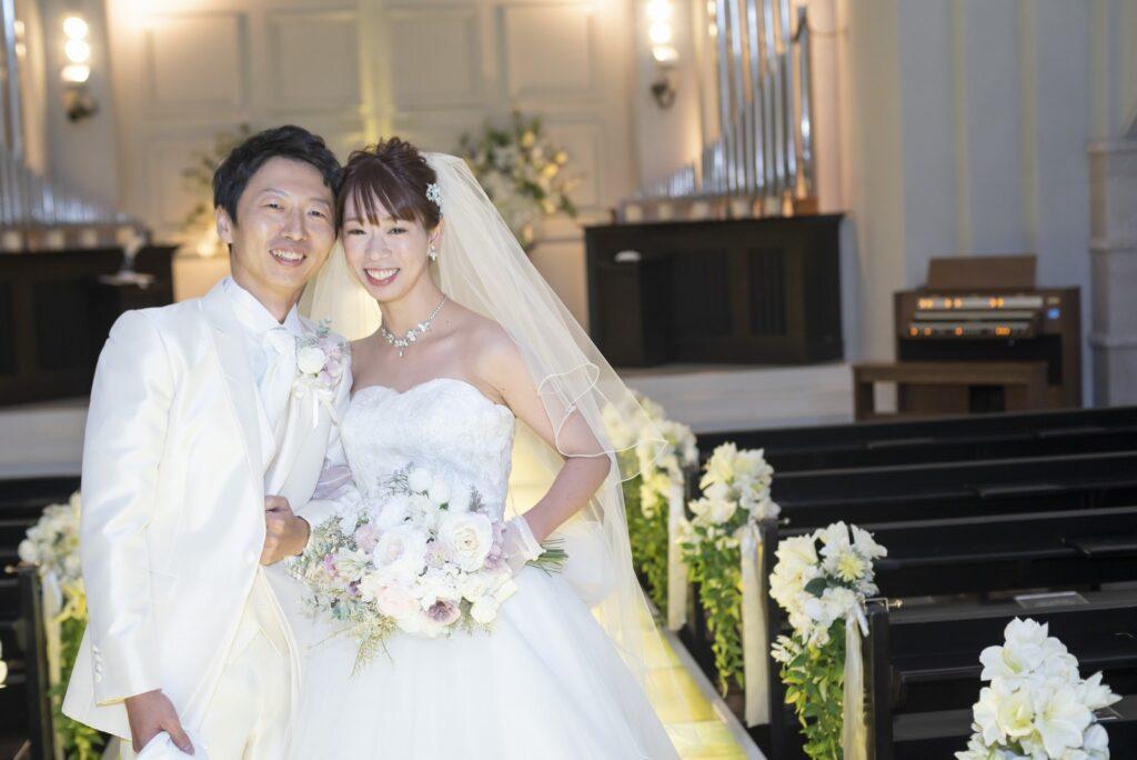 香川県の結婚式場シェルエメール&アイスタイルの当日写し