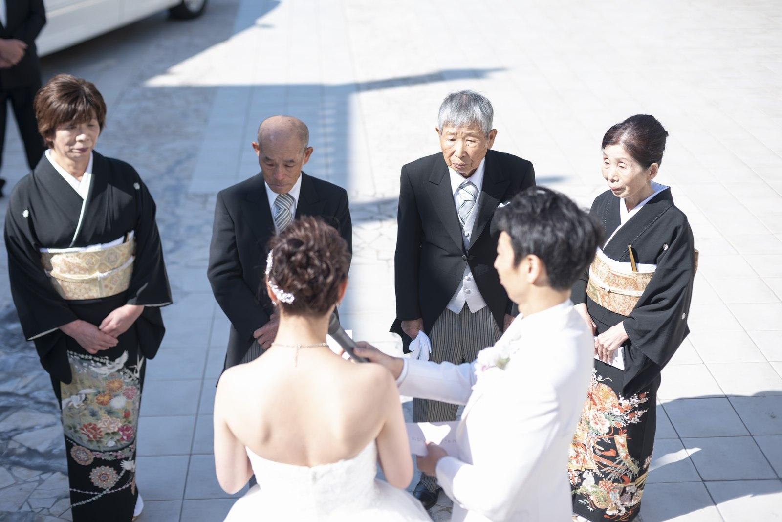 香川県の結婚式場シェルエメール&アイススタイルの新婦手紙